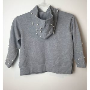 Zara kids Pearl Sweater Hoodie Size 7